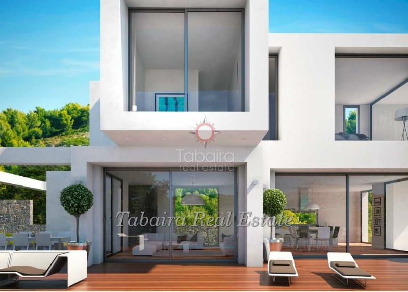 Koop moderne stijl huis in benissa costa blanca.