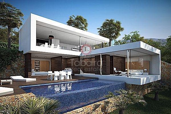 comprar chalet moderno en moraira alicante casas vanguardistas en la costa blanca - Chalets Modernos