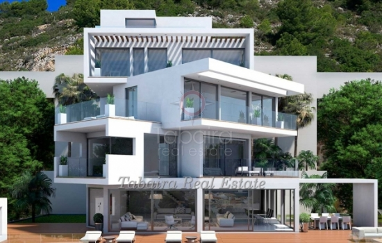 modern design villa for sale in Javea