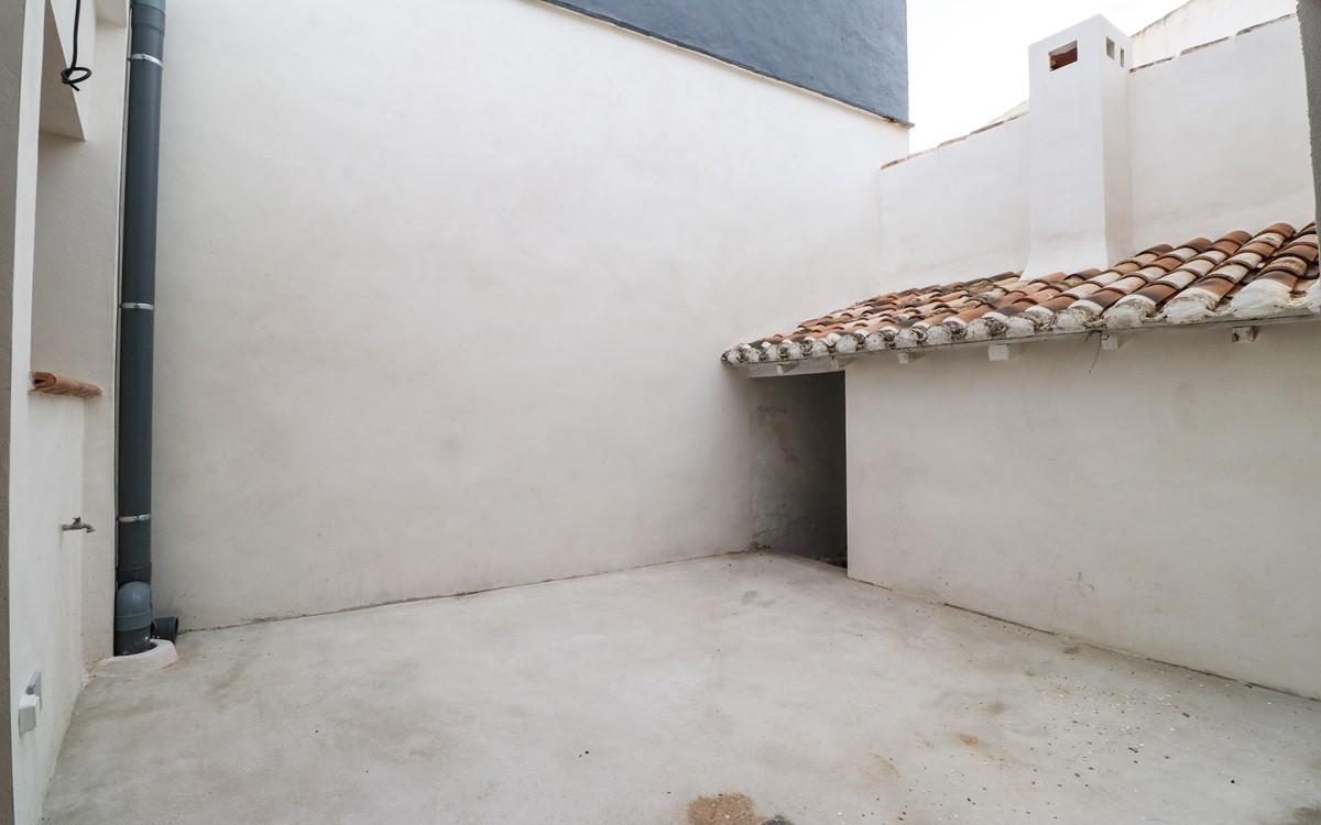 Rijwoning in Benissa - Bestaande bouw