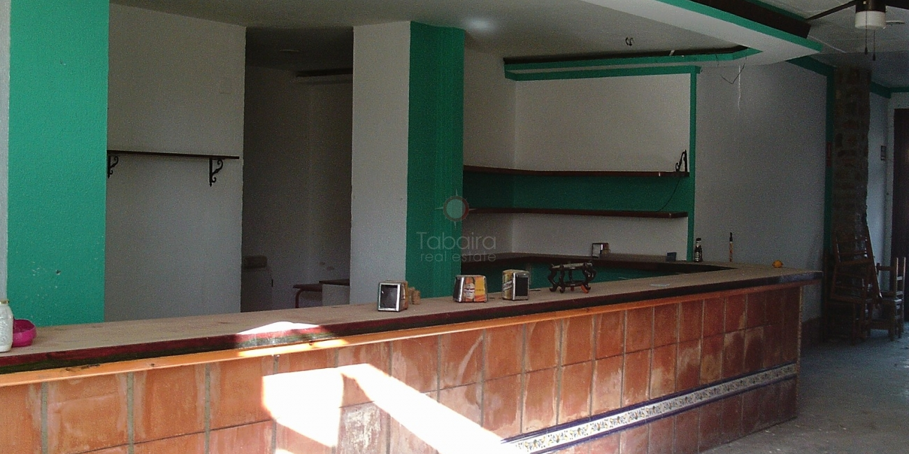 Vente » Local commercial » Benissa » Centro Ciudad