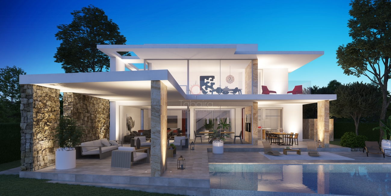 Moraira Moderne Villa zum Verkauf