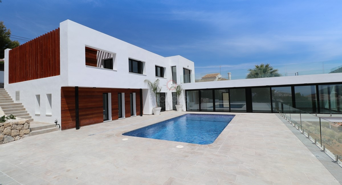 properties, modern four bedroom villa for sale in moraira