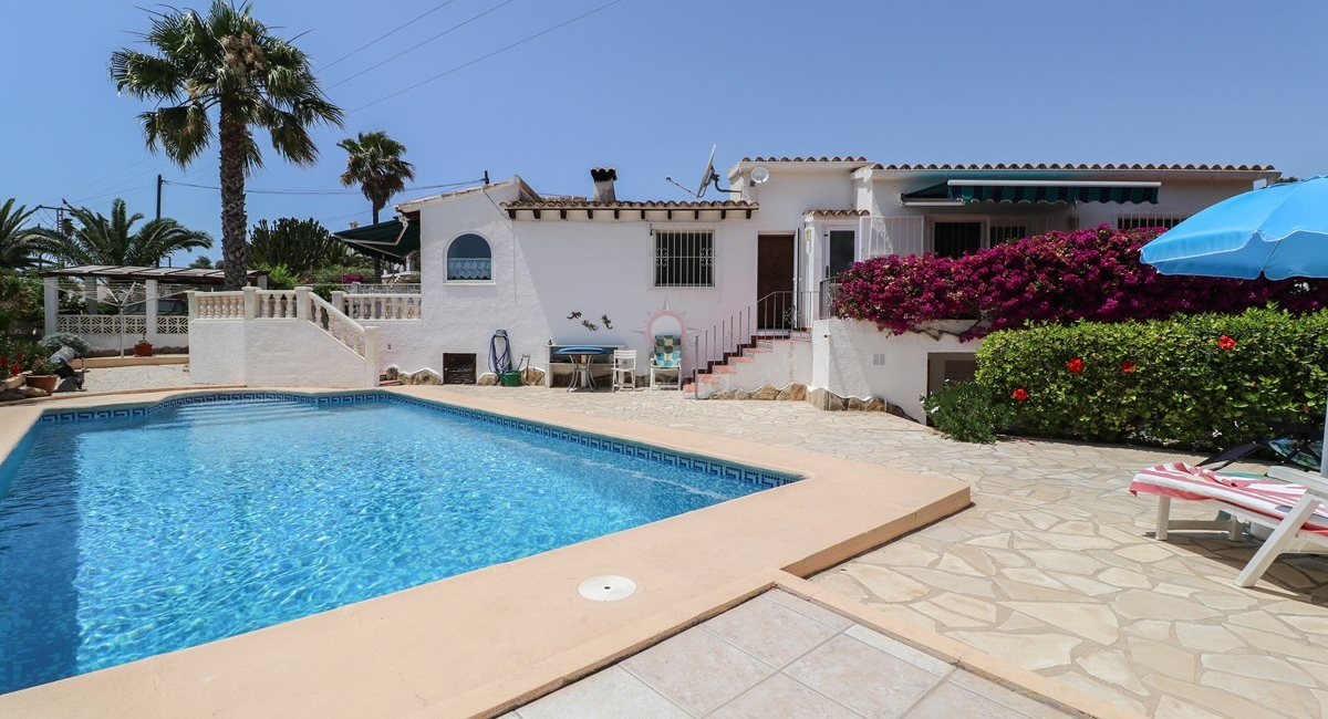 Moraira, 4 bedroom villa for Sale
