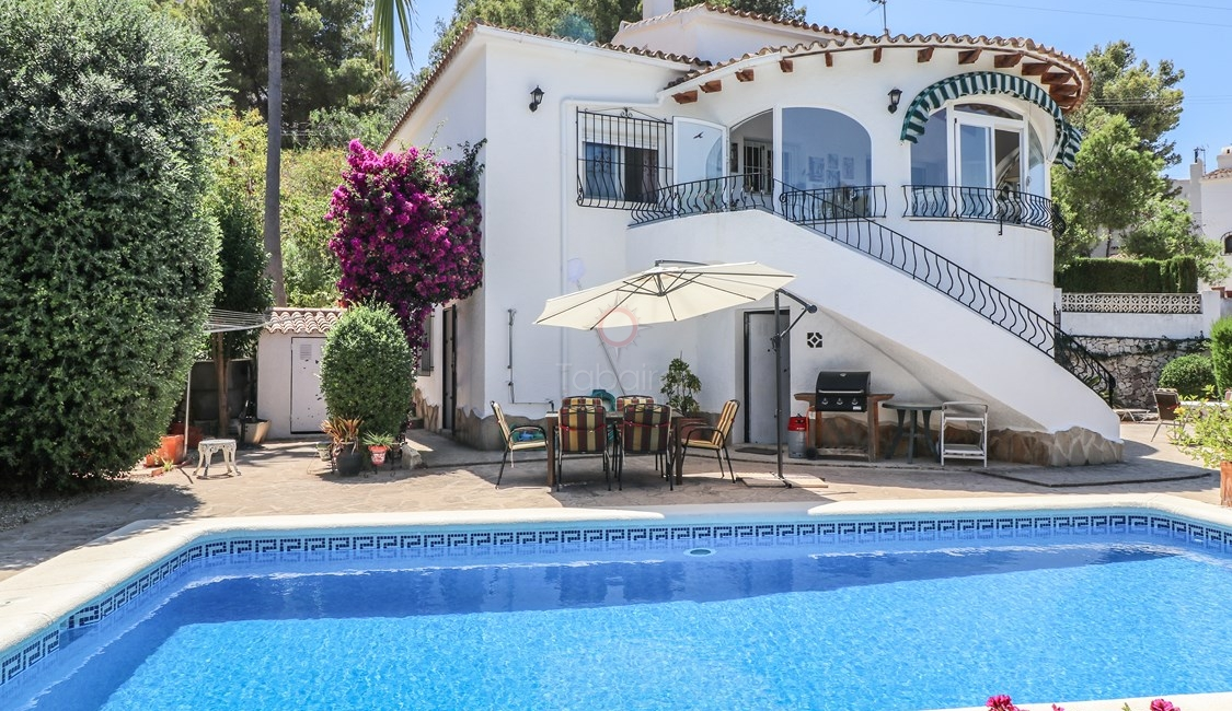 ▷ Moraira Villa for Sale with Guest Apartment
