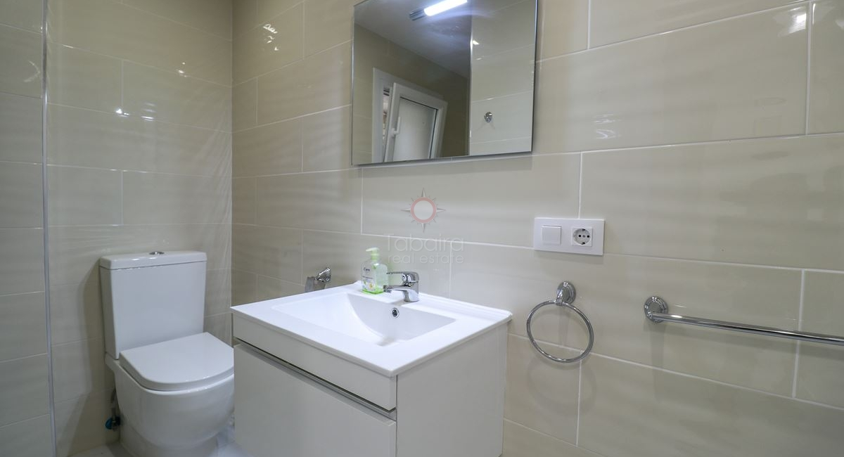 Ground floor shower room in the Villa for sale in Moraira