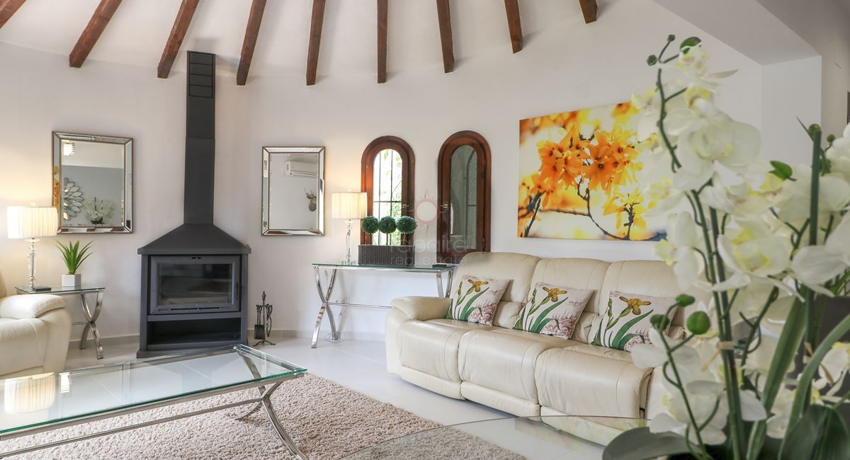 Principal living room from property for sale in San Jaime