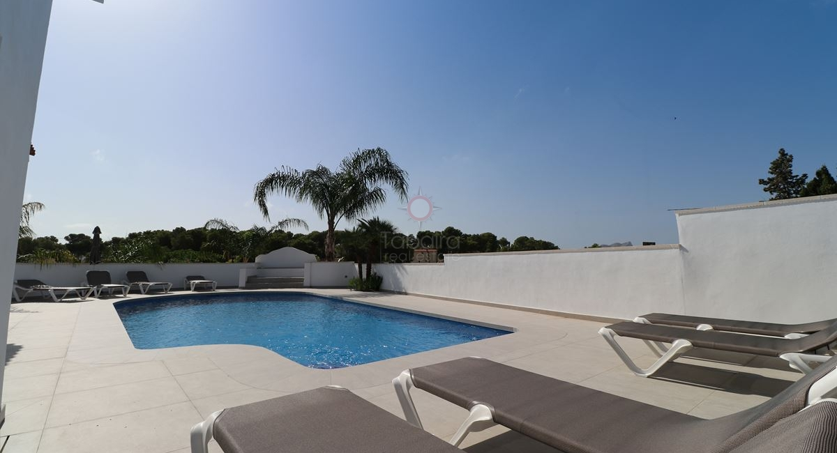 Moraira sea view villa for sale