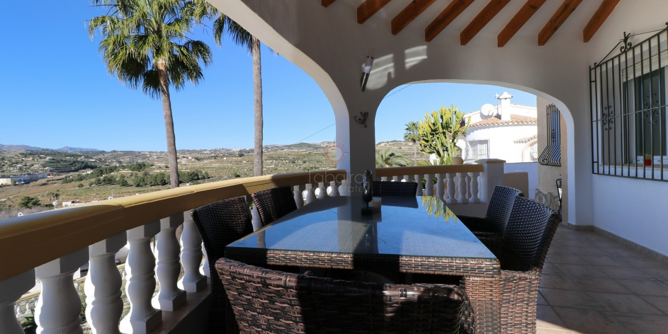 Spacious four bedroom villa for sale in Moraira