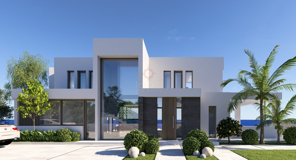 ▷ Moraira Property - First line to the sea villa for sale in Benissa