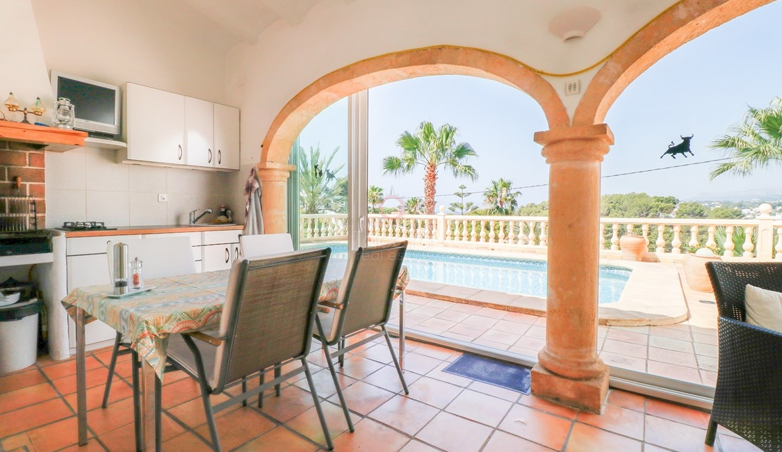 ▷ Villa with Sea Views for Sale in Moraira Costa Blanca