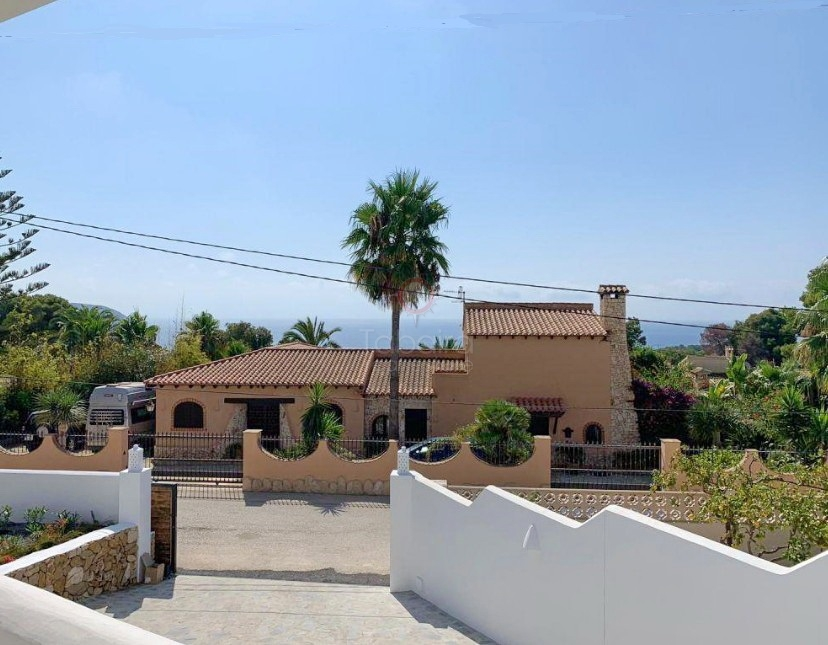 ▷ New Villa for Sale in Moraira Costa Blanca