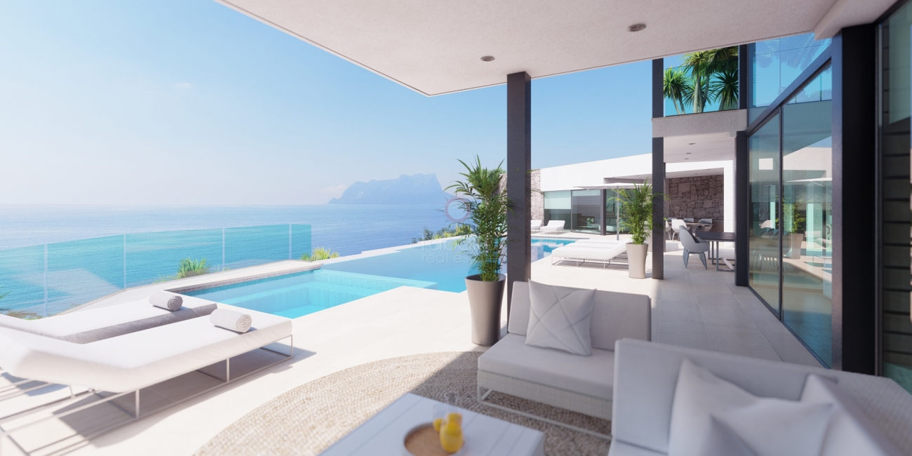 Luxury sea view properties for sale in Moraira  Costa Blanca