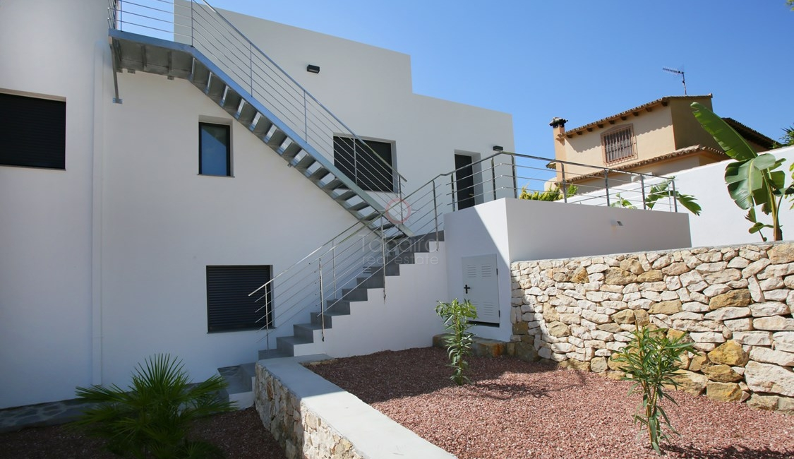 New build villa for sale near Moraira centre