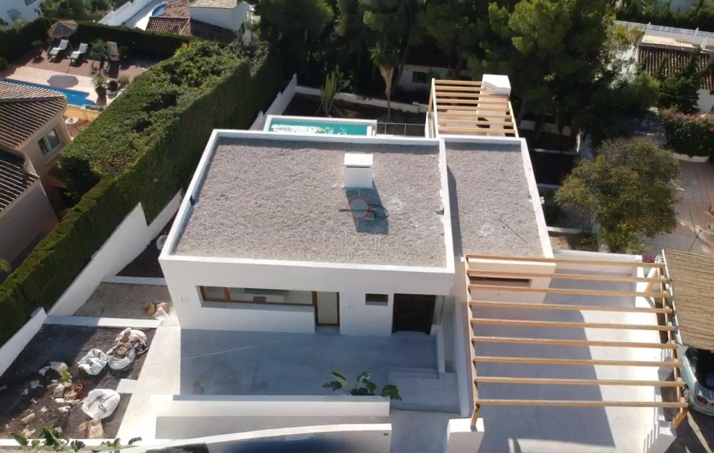 ​Moraira new build villa for sale close to the town