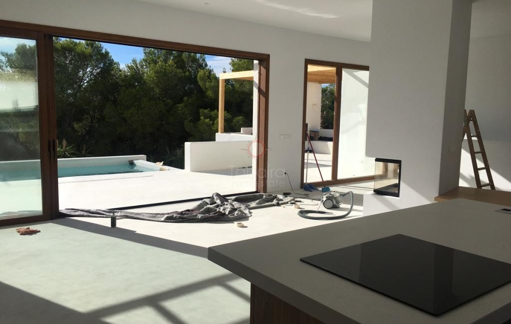 Moraira new build villa for sale close to the town