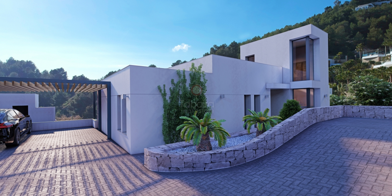 ▷ New build villa for sale in Benissa with sea views