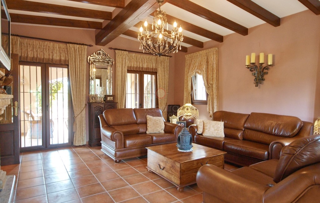 Luxurious country home for sale in Benissa Spain